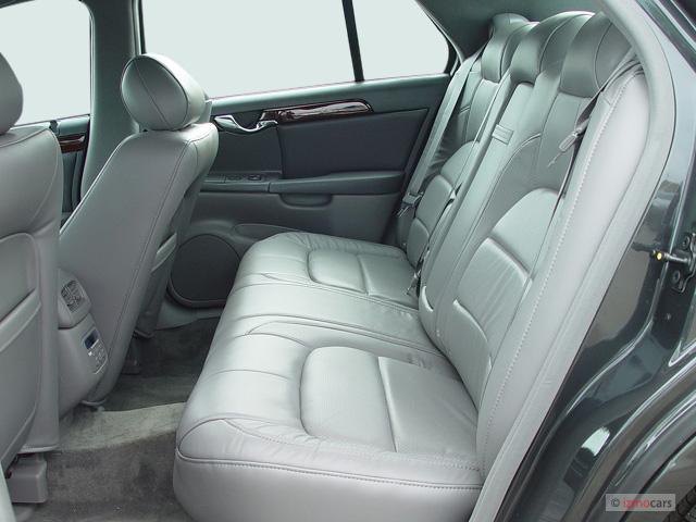Cadillac Deville Door Sedan Dts Rear Seats M