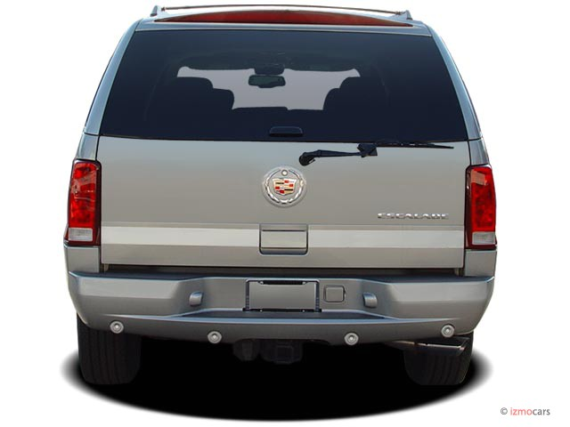 Image: 2005 Cadillac Escalade 4-door 2WD Rear Exterior View, size: 640 x 480, type: gif, posted ...