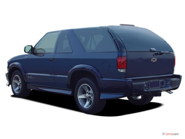 Image 2005 Chevrolet Blazer 2 Door Angular Rear Exterior