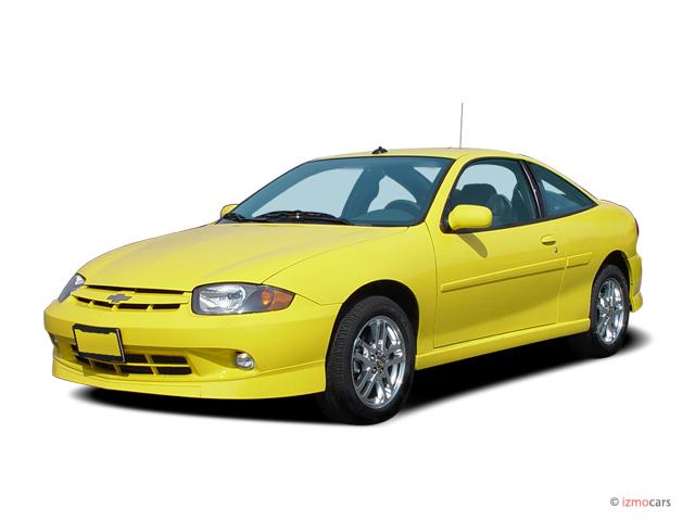 Image: 2005 Chevrolet Cavalier 2-door Coupe LS Sport Angular Front