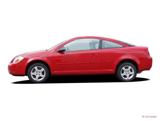 Image: 2005 Chevrolet Cobalt 2-door Coupe Side Exterior View, size