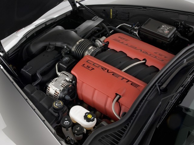 Engine - 2010 Chevrolet Corvette 2-door Coupe Z06 w/2LZ