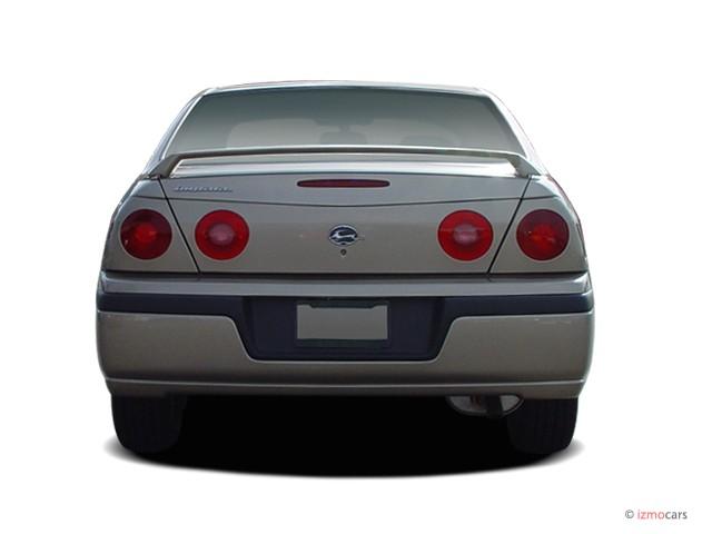 Image 2005 Chevrolet Impala 4 Door Base Sedan Rear