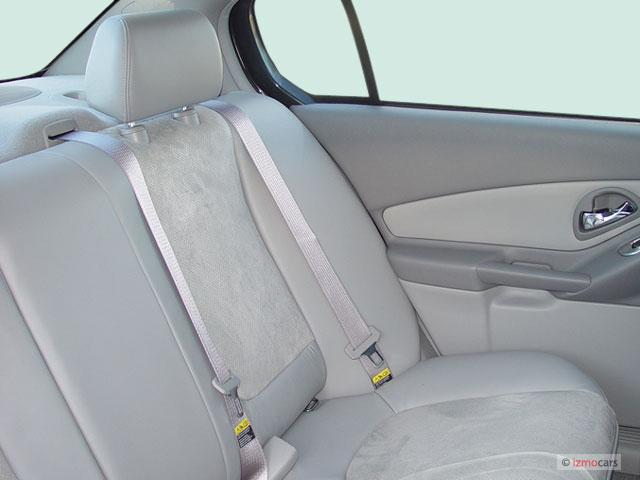 Image: 2005 Chevrolet Malibu 4-door Sedan LT Rear Seats ...