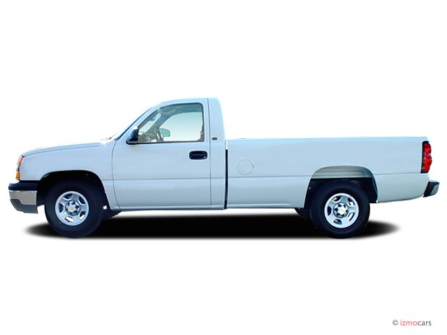 image 2005 chevrolet silverado 1500 reg cab 133 0 wb work truck side exterior view size 640. Black Bedroom Furniture Sets. Home Design Ideas