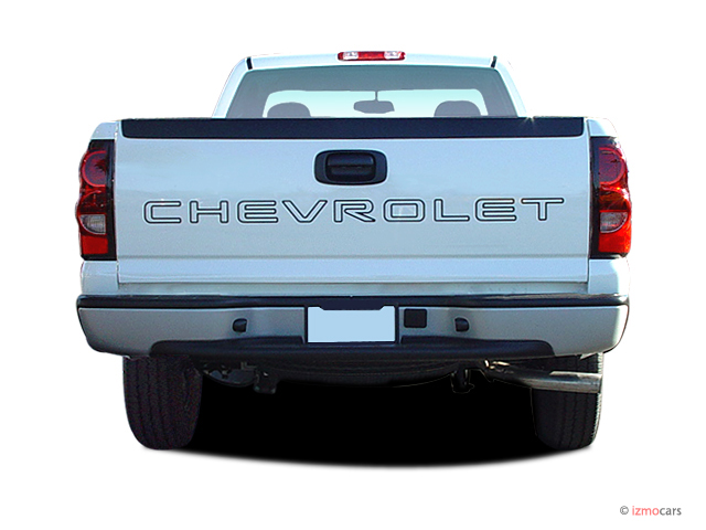 image 2005 chevrolet silverado 1500 reg cab 133 0 wb work truck rear exterior view size 640. Black Bedroom Furniture Sets. Home Design Ideas