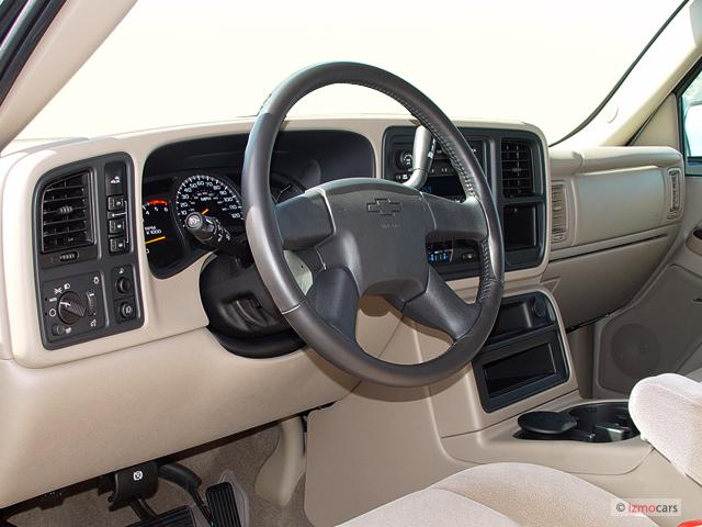 "Image: 2005 Chevrolet Silverado 2500HD Crew Cab 153"" WB 4WD LS Dashboard, size: 640 x 480, type"