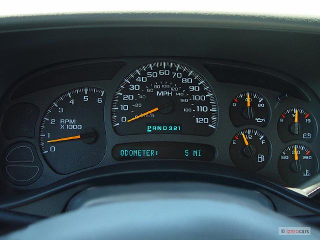 2005 Chevy Silverado Gauge Cluster