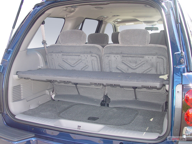 Image: 2005 Chevrolet TrailBlazer 4-door 4WD EXT LS Trunk ...
