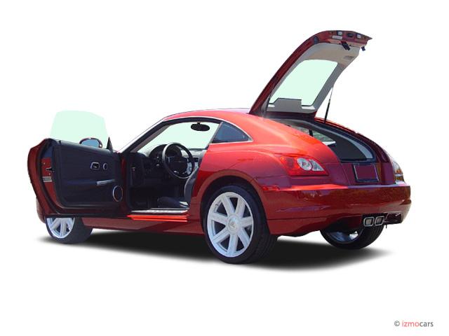 2005 Chrysler Crossfire 2 Door Coupe Open Doors