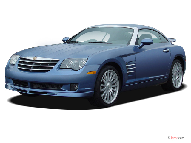 2005 Chrysler Crossfire 2-door Coupe SRT6 Angular Front Exterior View