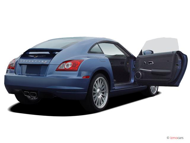2005 Chrysler Crossfire 2 Door Coupe SRT6 Open Doors