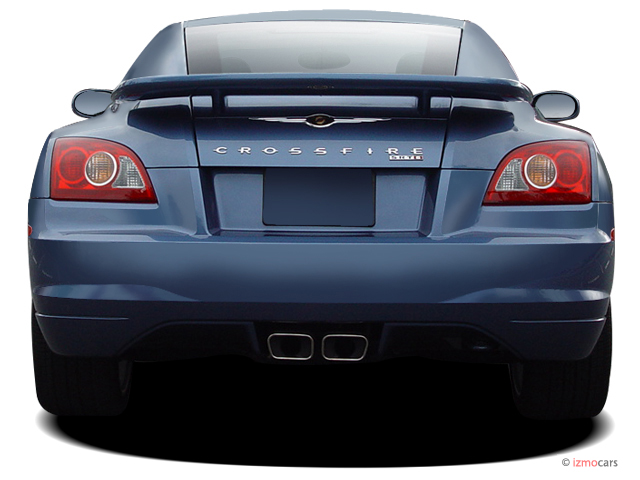 Captivating 2005 Chrysler Crossfire 2 Door Coupe SRT6 Rear Exterior View