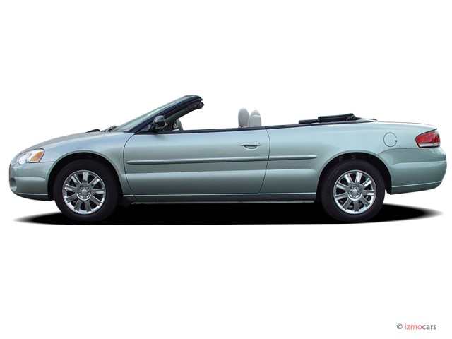 2005 Chrysler Sebring Convertible 2 Door Limited Side Exterior View