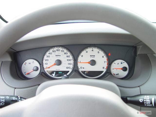 Dodge Neon Door Sedan Sxt Instrument Cluster M