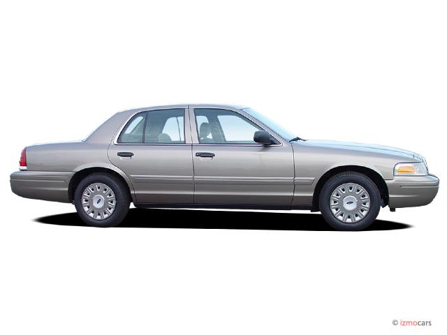 image 2005 ford crown victoria 4 door sedan standard side. Black Bedroom Furniture Sets. Home Design Ideas