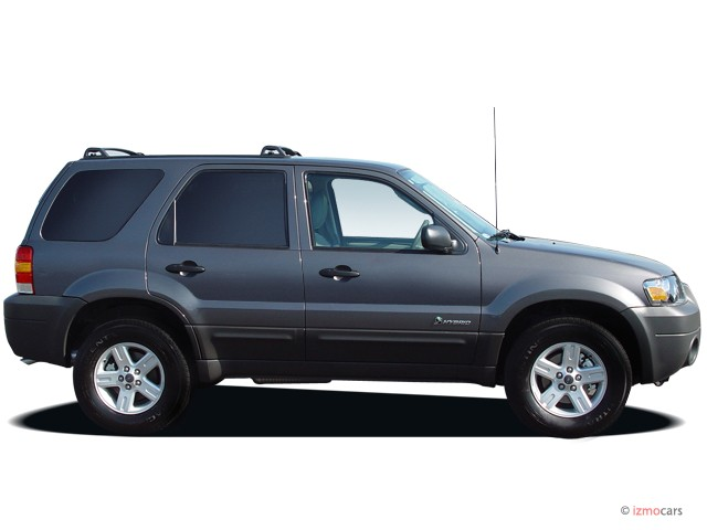 "Image: 2005 Ford Escape 4-door 103"" WB 2.3L Hybrid Side Exterior View, size: 640 x 480, type ..."