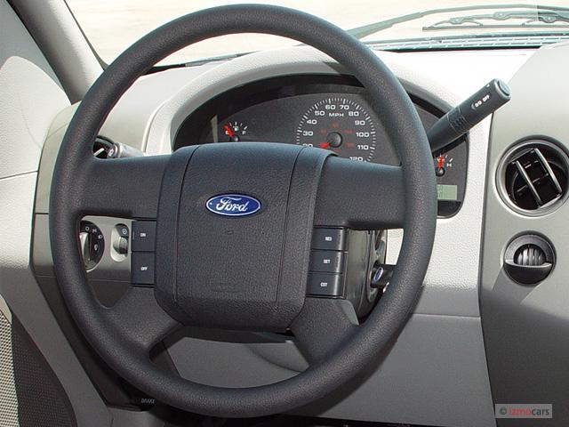 "Image: 2005 Ford F-150 Supercab 133"" STX Steering Wheel ..."