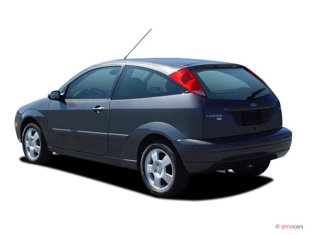 image 2005 ford focus 3dr coupe zx3 ses angular rear. Black Bedroom Furniture Sets. Home Design Ideas