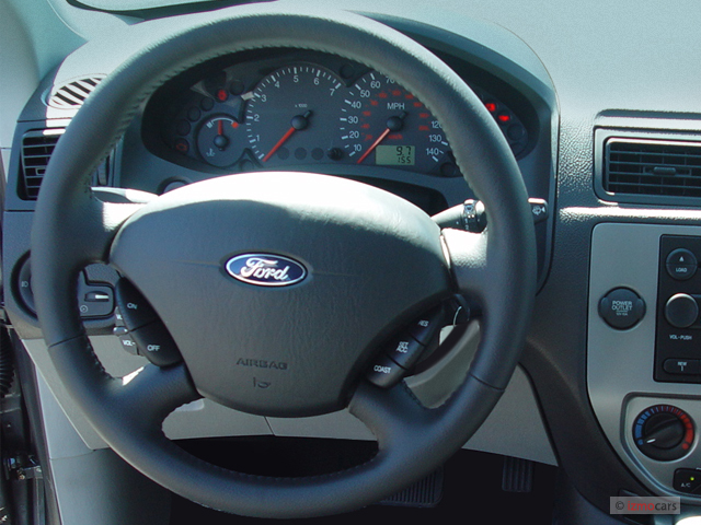 image 2005 ford focus 3dr coupe zx3 ses steering wheel. Black Bedroom Furniture Sets. Home Design Ideas