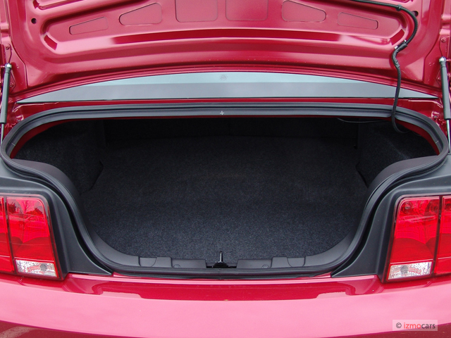 Image: 2005 Ford Mustang 2-door Coupe Premium Trunk, size ...