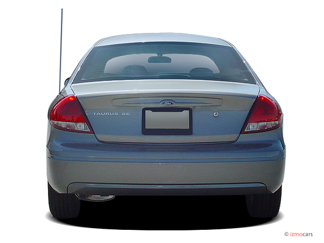 Image: 2005 Ford Taurus 4-door Sedan SE Rear Exterior View, size: 640 x 480, type: gif, posted ...