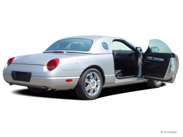2005 Ford Thunderbird 2-door Convertible Deluxe Open Doors