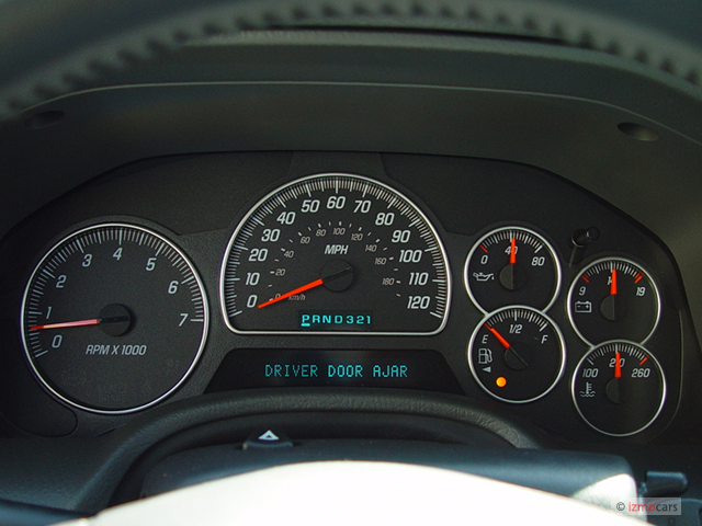 Image: 2005 GMC Envoy 4-door 4WD SLT Instrument Cluster, size: 640 x 480, type: gif, posted on ...