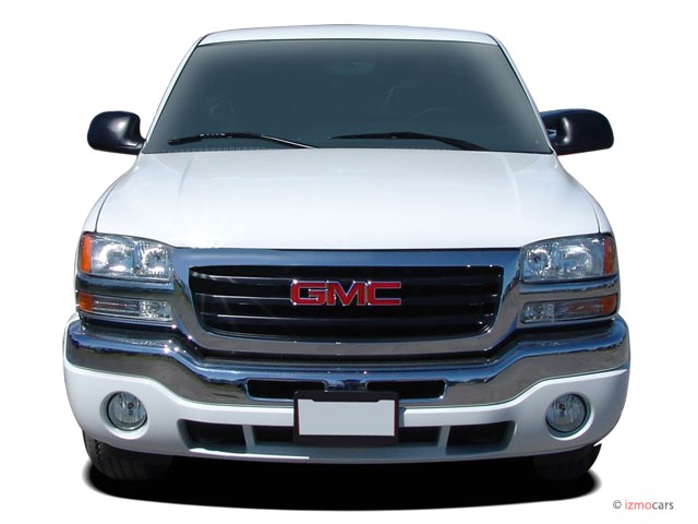 """Uber Xl Vs Suv >> Image: 2005 GMC Sierra 1500 Ext Cab 157.5"""" WB 4WD Front Exterior View, size: 640 x 480, type ..."""