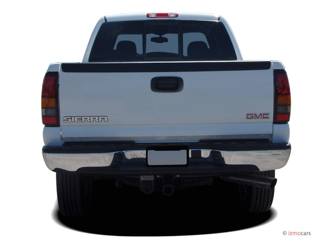 image 2005 gmc sierra 2500hd crew cab 167 wb rear exterior view size 640 x 480 type gif. Black Bedroom Furniture Sets. Home Design Ideas