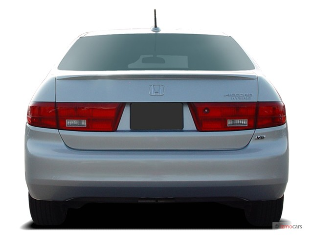 image 2005 honda accord hybrid ima at rear exterior view. Black Bedroom Furniture Sets. Home Design Ideas