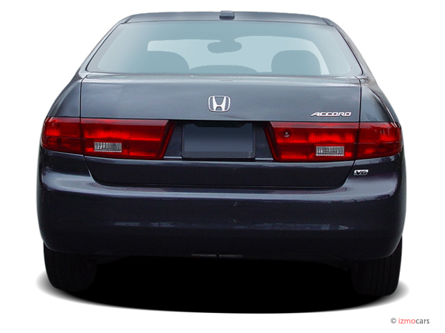 Honda Accord Sedan Ex At Rear Exterior View M