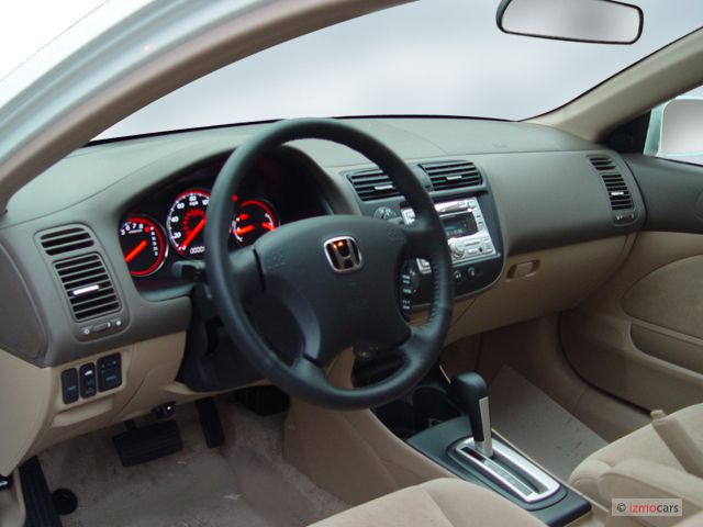 Honda Civic Coupe Ex At Se Dashboard M