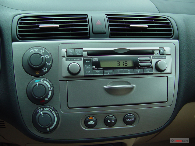 Image: 2005 Honda Civic Hybrid CVT ULEV Instrument Panel ...