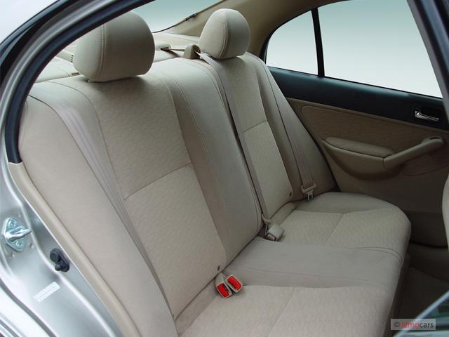Image 2005 Honda Civic Hybrid Cvt Ulev Rear Seats Size