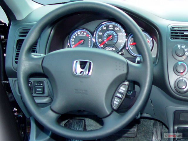 Image: 2005 Honda Civic Sedan EX AT SE Steering Wheel ...