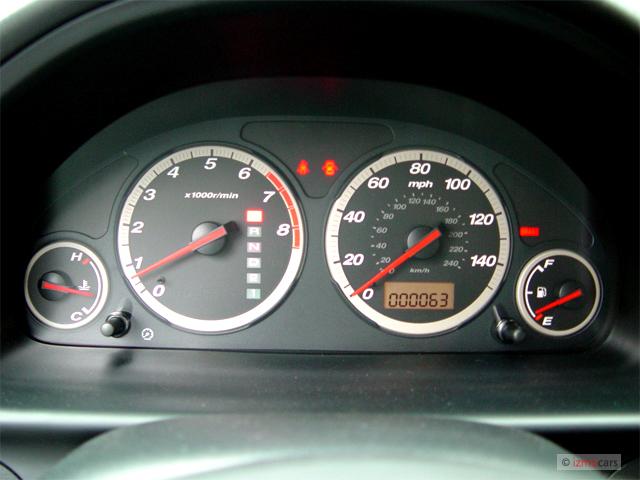 Image 2005 Honda Cr V 4wd Lx At Instrument Cluster Size