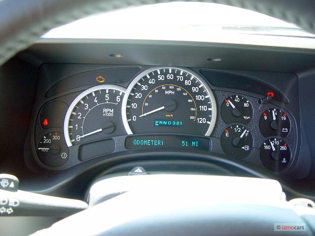 Image: 2005 HUMMER H2 4-door Wagon SUV Instrument Cluster ...