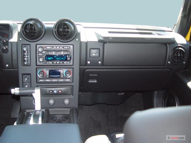 Image 2005 hummer h2 4 door wagon suv instrument panel - 2003 hummer h2 interior door panel ...