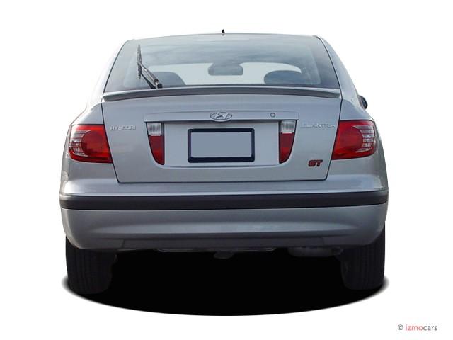 Image: 2005 Hyundai Elantra 5dr Sedan GT Auto Rear ...