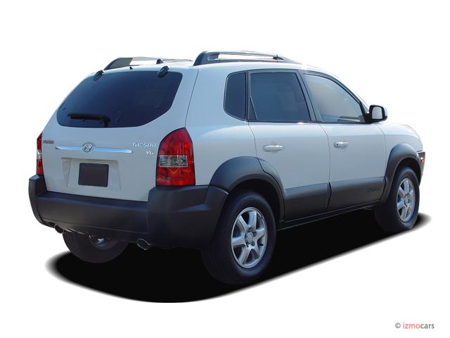 Image 2005 Hyundai Tucson 4 Door Gls Fwd 2 7l V6 Auto