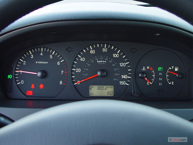 Hyundai Accent Gas Mileage >> Image: 2005 Hyundai XG350 4-door Sedan L Instrument