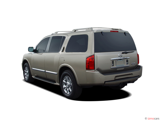 Image: 2005 Infiniti QX56 4-door AWD Angular Rear Exterior ...