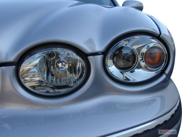 2005 Jaguar S Type Front Bumper Components Assembly Parts Diagram