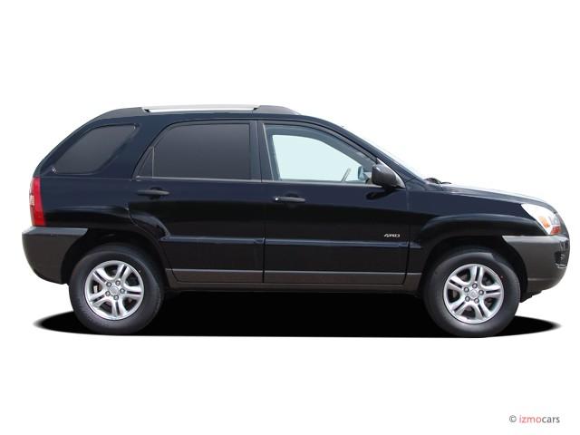 image 2005 kia sportage 4 door lx 4wd v6 auto side. Black Bedroom Furniture Sets. Home Design Ideas