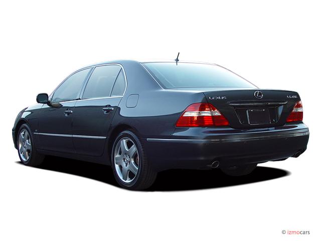 image 2005 lexus ls 430 4 door sedan angular rear. Black Bedroom Furniture Sets. Home Design Ideas
