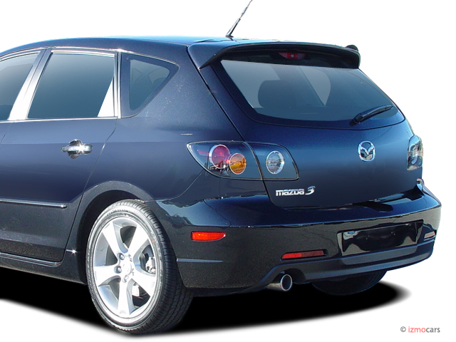 image 2005 mazda mazda3 5dr wagon s manual tail light. Black Bedroom Furniture Sets. Home Design Ideas