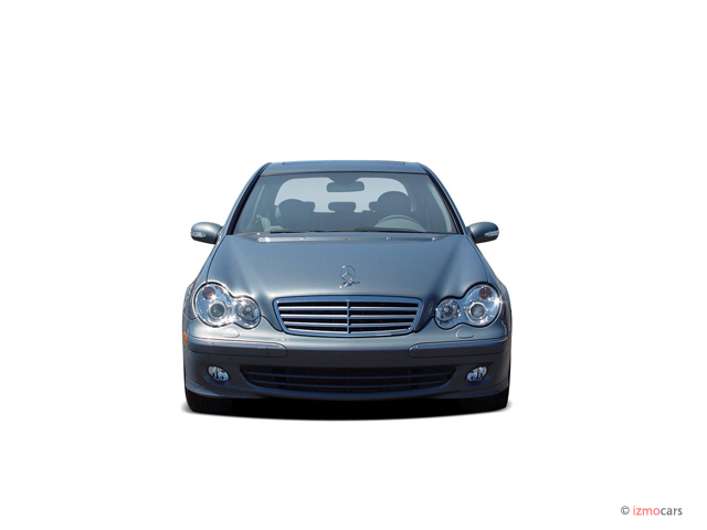 image 2005 mercedes benz c class 4 door sedan 2 6l 4matic awd front exterior view size 640 x. Black Bedroom Furniture Sets. Home Design Ideas