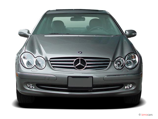 Image 2005 mercedes benz clk class 2 door coupe 3 2l for 2005 mercedes benz clk class coupe