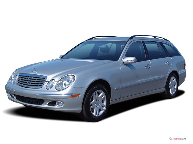 2005 Mercedes-Benz E Class 4-door Wagon 3.2L *Ltd Avail* Angular Front Exterior View